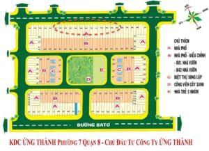 Ban Do Ung Thanh  300x217 - KDC Ứng Thành Quận 8