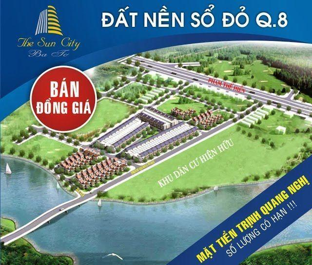 the sun city ba to quan 8 hinh 01 - KDC Thanh Nhựt Quận 8
